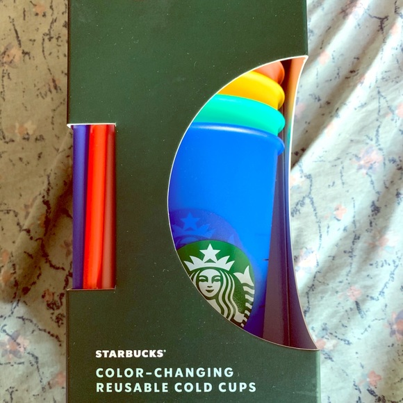 Limited edition colour changing cups Starbucks